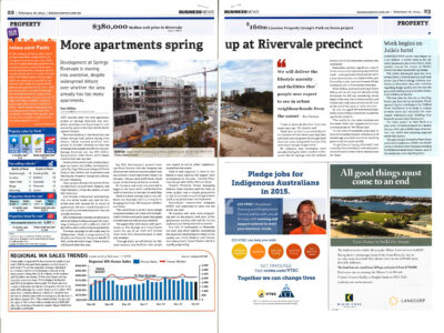 More apartments spring up at Rivervale precint