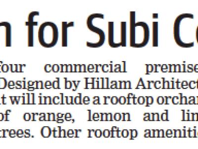 Orchard vision for Subi Centro complex