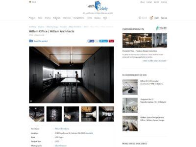 Hillam Office / Hillam Architects